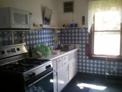 Kitchen at start