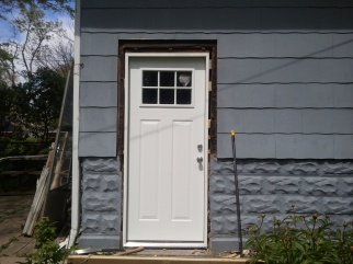 Back Doors with shims.