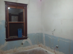 Kitchen ready to be primed.