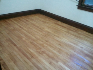 backroom stained