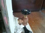 Installing new shut-off valve