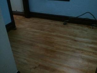 Olive's Room Floor