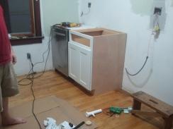 In-Progress Kitchen Install