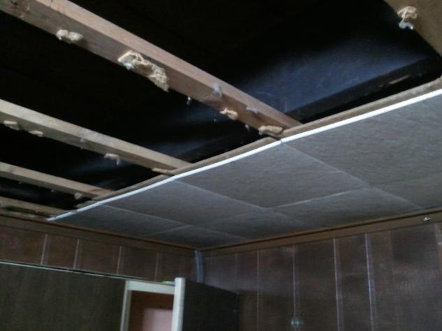 Nasty Basement Tiles