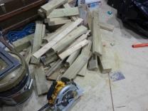 Pile of scrap.