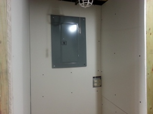 Utility closet