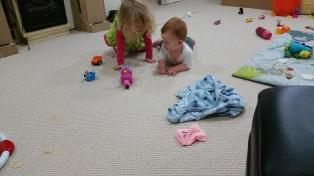 Kids playing more.